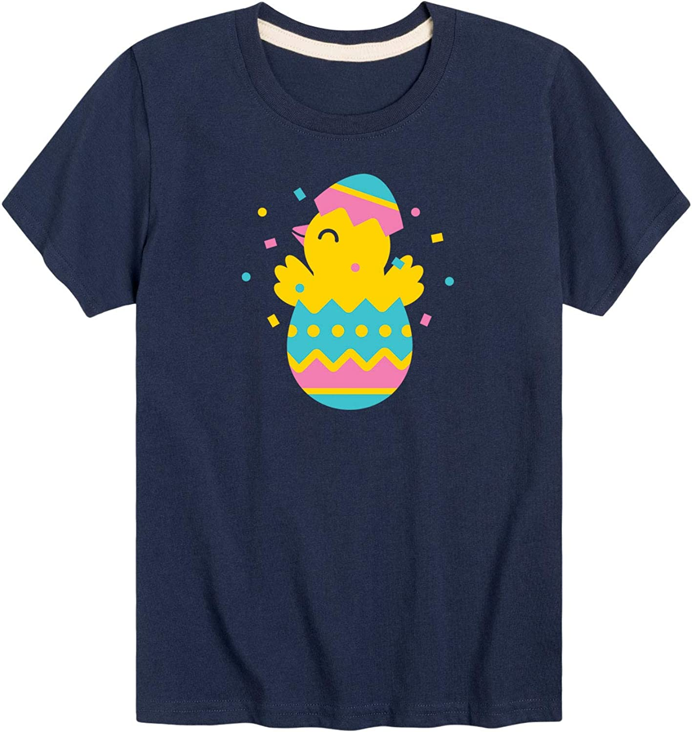 Instant Message Confetti Chick-Youth Short Sleeve Tee