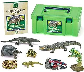 カロラータ 爬虫類 フィギュア ( 立体図鑑 ) リアル フィギュアボックス [解説書付き] 食品衛生法クリア 8種