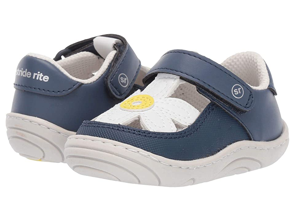 Stride Rite Daisy (Infant/Toddler) (Navy) Girl