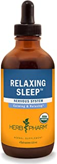 Herb Pharm Relaxing Sleep Herbal Formula with Valerian Liquid Extract - 4 Ounce