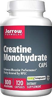 Jarrow Formulas 肌酸一水化物胶囊,运动营养,800毫克,120粒