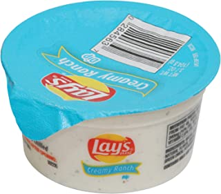 Lay's Creamy Ranch Dip Cups 3.7 ounce Pack of 30