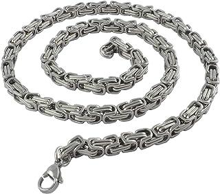 11 mm Edelstahl Königskette XXL Herren Armband Männer Kette silber 17 bis 80 cm