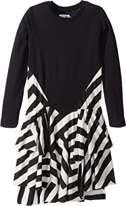 Striped Layered Dress (Little Kids/Big Kids)