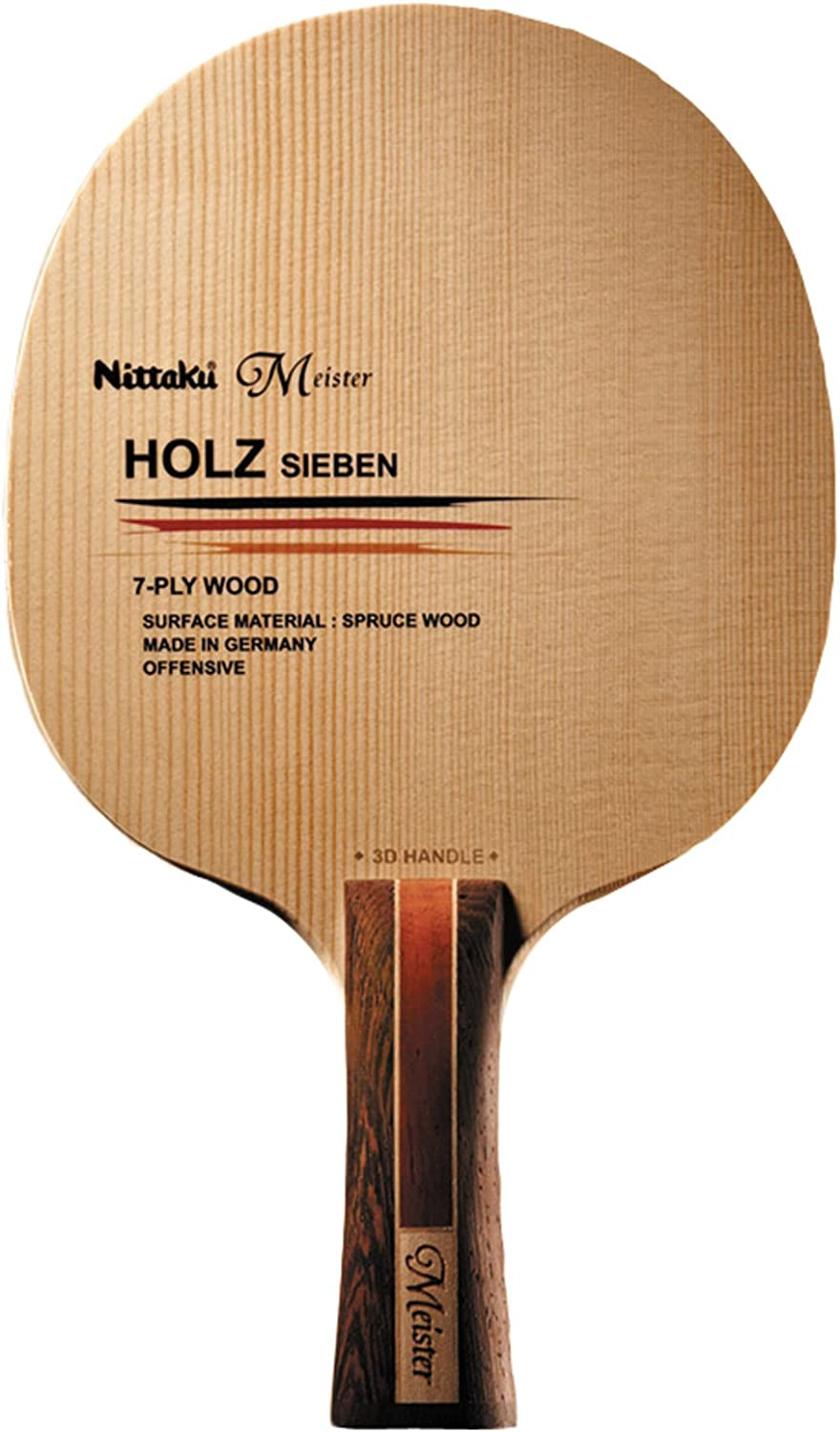 Nittaku (Nittaku) Table Tennis racket Horutsushiben 3D FL NE6113