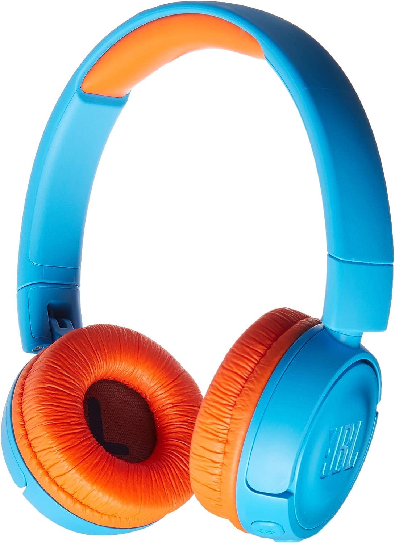 JBL Free Shipping Max 43% OFF New JR 300BT - On-Ear Wireless Blue for Headphones Kids Orange