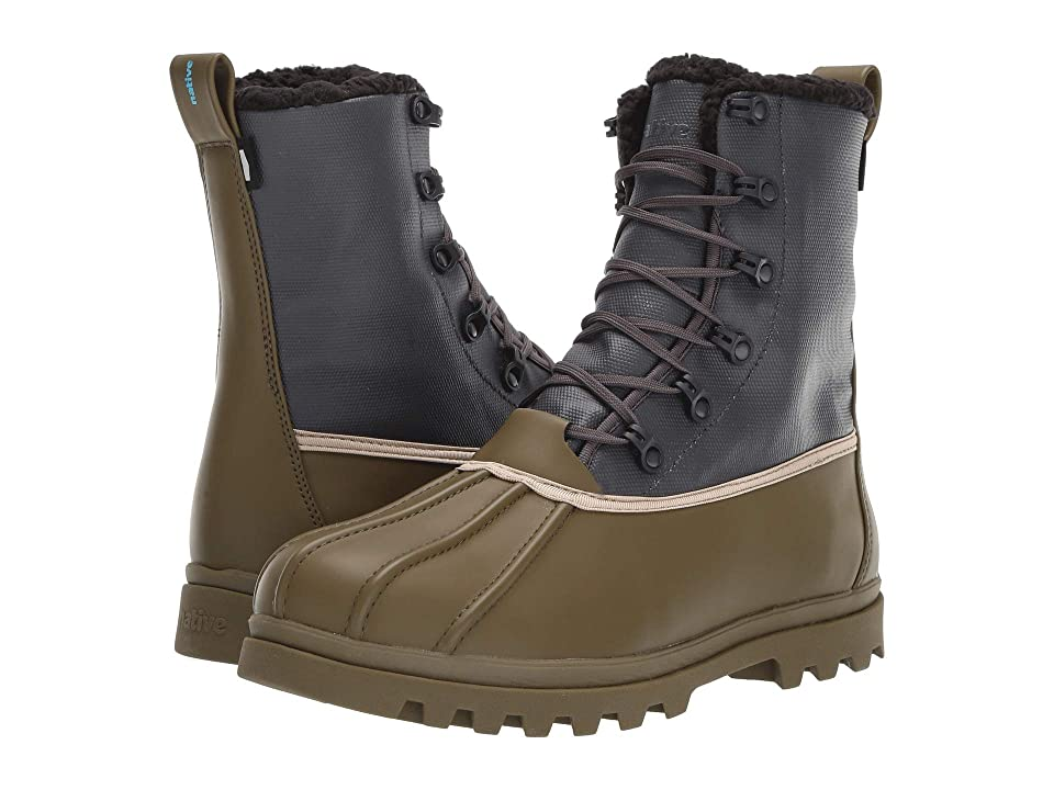 Native Shoes Jimmy 3.0 Treklite (Utili Green/Onyx Black) Cold Weather Boots