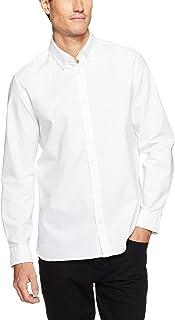 Calvin Klein Men's Oxford Long Sleeve Woven Shirt