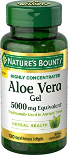 Best nature's bounty aloe vera capsules Reviews