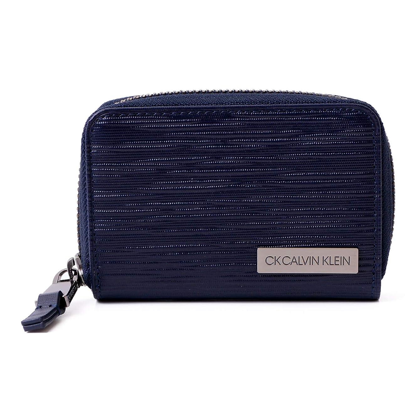 一回踏み台リーク[カルバンクライン] Calvin Klein PLATINUM 4連 キーケース スマートキー タットII 正規品 メンズ レザー 純正化粧箱付き