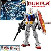 Bandai Hobby MG Gundam RX-78-2 Version 3.0 Action Figure Model Kit, 1:100 Scale