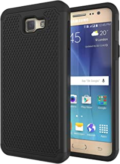 Galaxy On5 2016 Case,Galaxy J5 Prime Case,ANLI(TM) [Shock Absorption] Hybrid Dual Layer Armor Protective Case Cover for Samsung Galaxy On5 2016/J5 Prime/G570 Black