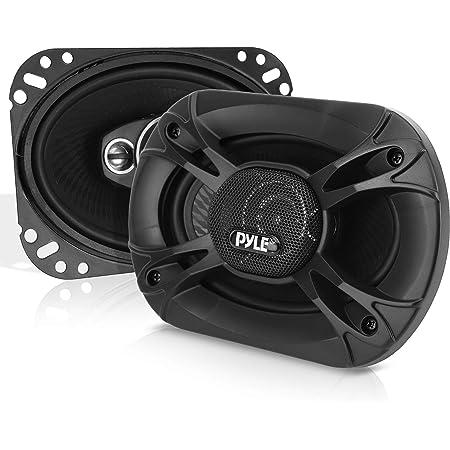 "4-Way Universal Car Stereo Speakers - 500W 6x9"" Quadraxial Loud Pro Audio Car Speaker Universal OEM Quick Replacement Component Speaker Vehicle Door/Side Panel Mount Compatible - Pyle PL61984BK (Pair)"