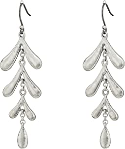 Lucky Brand - Leaf Motif Earrings