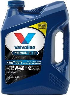 روغن موتور دیزل Valvoline 15W-40 Premium Blue Diesel - 1gal (773780)
