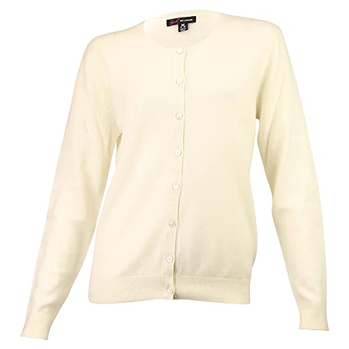 6c8d41a87c5e61 Urban Boundaries Women's 100% Cashmere Cardigan Sweater