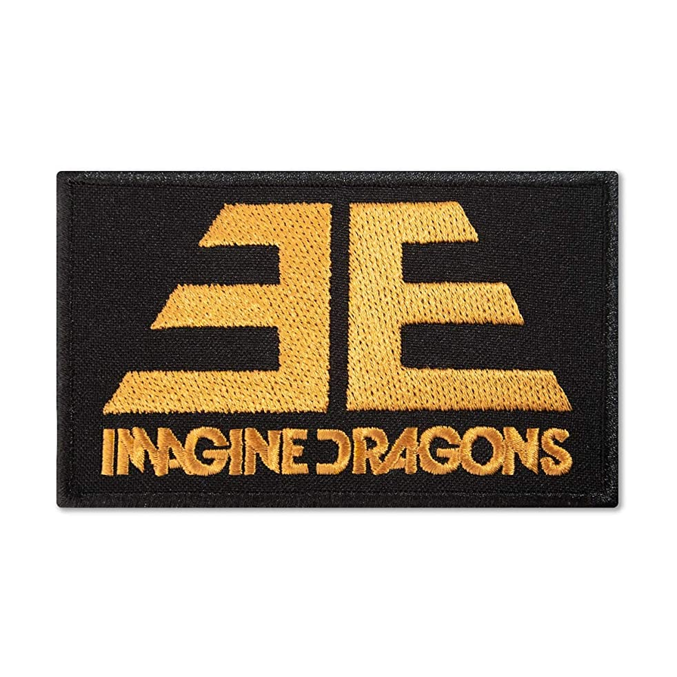 Imagine Dragons Evolve Album Logo?Music Rock Band Embroidered Back Patch Iron On (4.3