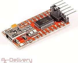 AZDelivery FTDI Adapter FT232RL USB zu TTL Serial für 3,3V und 5V mit gratis eBook!