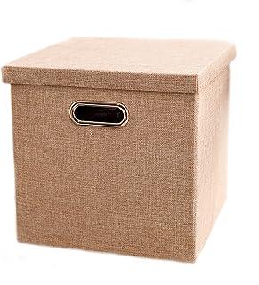 Panier de rangement Boîte de rangement Oxford tissu pliant panier de rangement Boîte de sous-vêtements Boîte de rangement ...