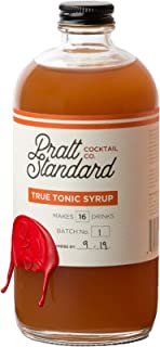 Pratt Standard Cocktail Company Syrup Tonic Authentic, 16 OZ