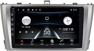 Android Autoradio,2 Diutoradio Mit Navi Für Toyota Avensis 2009 2015 Unterstützt Touchscreen GPS Navigation Radio Bluetooth Park Kamera Lenkrad Bedienung,4G+WiFi,2G+32G