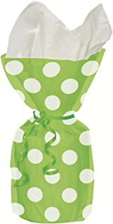 Unique Party Polka Dot Cello Party Bags (Pack Of 20)
