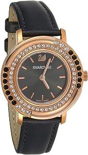 سواروفسكي ساعة رسمية انالوج بعقارب للنساء ، جلد ، 5243047
