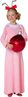 Toddler (2T-4T) Dr. Seuss Cindy Lou Who Costume | Officially Licensed Pink