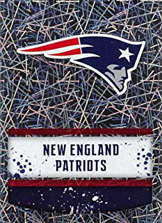 2018 Panini NFL Stickers Collection #45 New England Patriots Logo Foil Official Football Sticker
