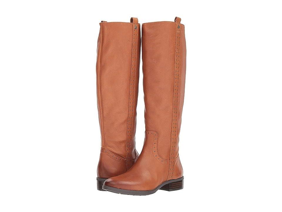 Sam Edelman Prina Leather Tall Boot (Whiskey Neymar Leather) Women