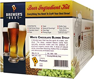 Brewer's Best White Chocolate Blonde Stout 5 Gallon Beer Ingredient Kit