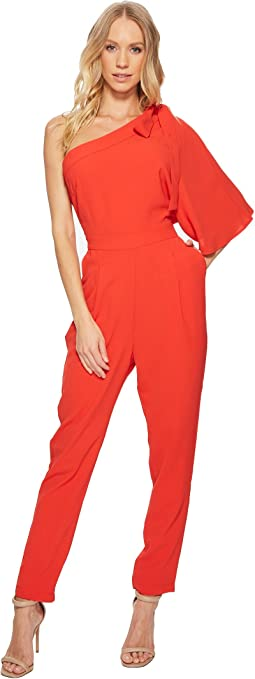 Adelyn Rae Willow One Shoulder Jumpsuit