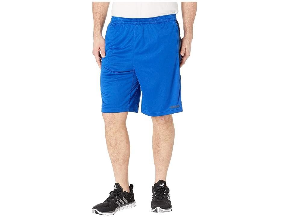 adidas - adidas Big Tall D2M 3-Stripe Shorts , Blue