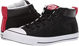 fe306cc3b8024c Black White Enamel Red. 107. Converse. Chuck Taylor® All Star Street Mid
