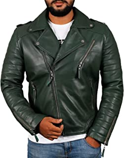 efc40597db2213 Amazon.com  Greens - Leather   Faux Leather   Jackets   Coats ...