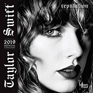 Taylor Swift 2019 7 x 7 Inch Monthly Mini Wall Calendar, Music Pop Singer Songwriter Celebrity (Multilingual Edition)