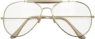 Photochromic Adaptive Clear Lens Aviator Glasses W/Sun Sensor Transition Light Tinted Sunglassses