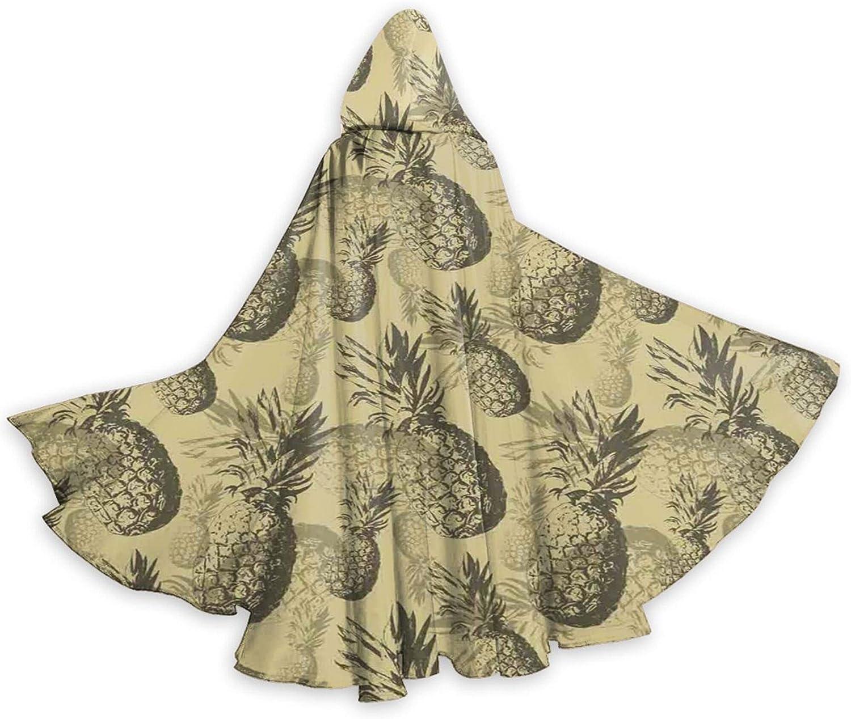 Cloak Botanical Minneapolis Mall Grunge Pattern Bombing new work With Island Tropical Fruits Vinta