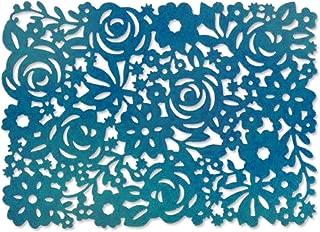 Sizzix 661085 Floral Panel Thinlits Die by Brenda Walton