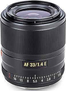 VILTROX 単焦点レンズ AF 33mm F1.4 STM F1.4大口径 瞳A ソニーEマウント交換レンズ 軽量 柔らかいボケ味 APS-Cレンズ フルサイズ適用A5100/A6100/A6300/A6400/6500/6600/a7/a...
