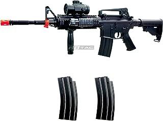 BBTac M83 Full Auto Electric Power Airsoft Gun LPEG/250 FPS/Red Dot Sight/Flash Light
