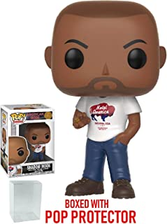 Funko Pop! TV: American Gods - Shadow Moon Vinyl Figure (Bundled with Pop Box Protector Case)