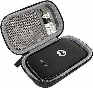 Hard Travel Case for HP Sprocket Portable Photo Printer by co2CREA (Black)