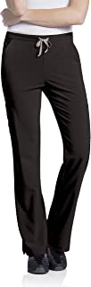 Landau Urbane Women's 4-Way Stretch Cargo Pant-Mositure Wicking Scrubs