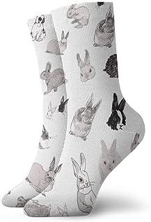 Elsaone, Niños Niñas Locos Divertidos Divertidos Divertidos Calcetines de Conejo Calcetines Lindos de Novedad
