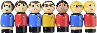The Big Bang Theory/TOS Pin Mate Set of 7 - Con. Excl.