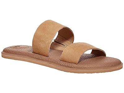 Sanuk Yoga Gora Leather (Tan) Women