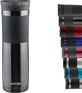 Contigo Byron Snapseal Travel Mug, Stainless Steel Thermal Mug, Vacuum Flask, Leakproof Tumbler, Coffee Mug with BPA Free ...