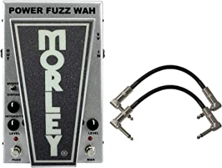 Morley PFW CLIFF BURTON POWER FUZZ WAH w/ 2 Patch Cables