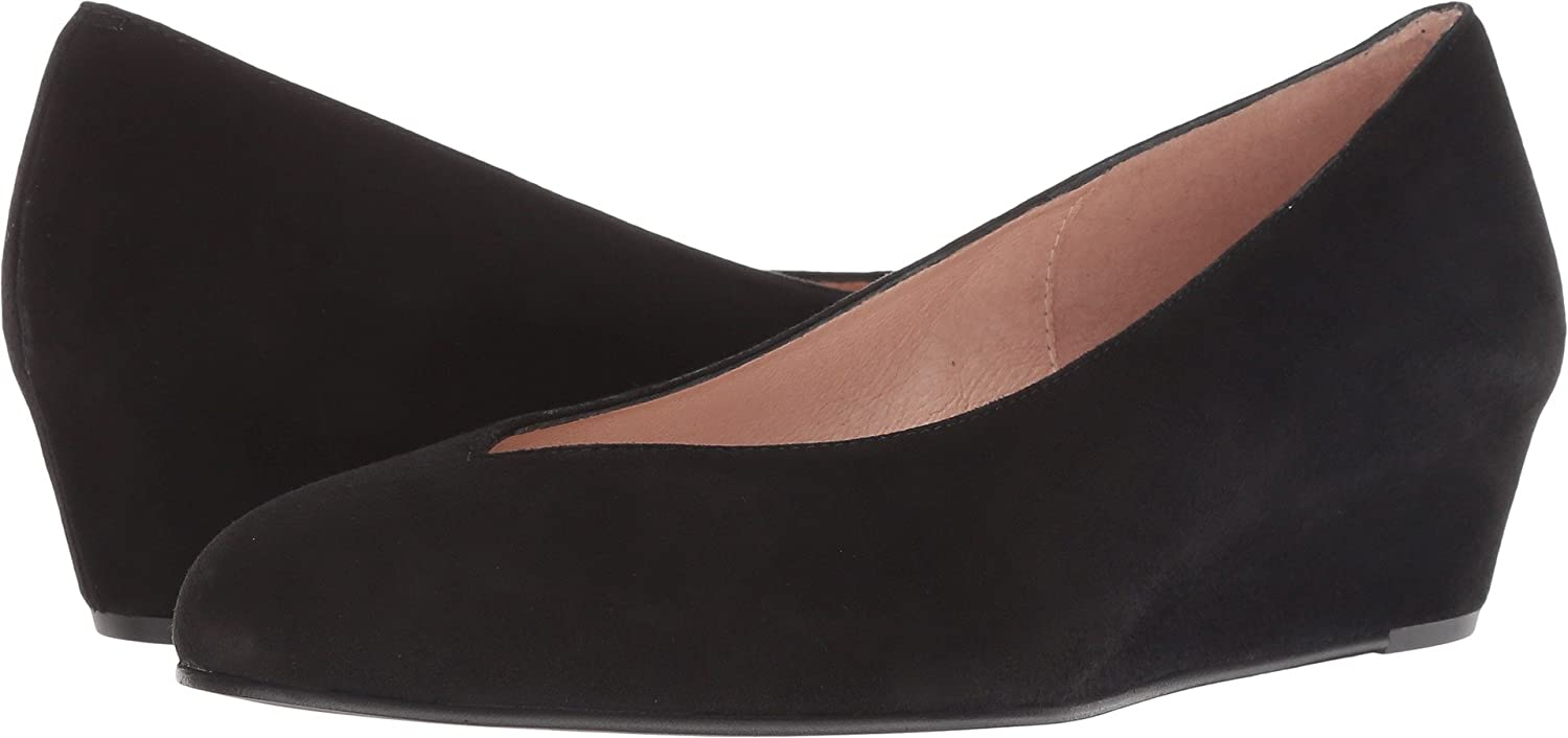 French Sole Women's Cubic Wedge Heel